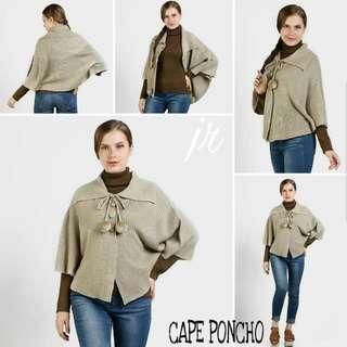 Cape poncho