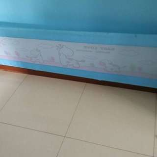 baby bed guard