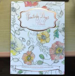 Painterly Days: Flowers (Watercolouring Book)