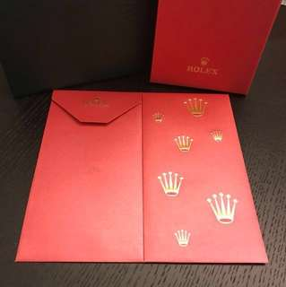 2018 ROLEX CNY red packet / CNY Rolex Angpao