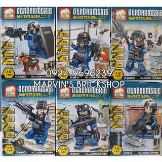 For Sale Military Soldiers 6in1 Minifigures