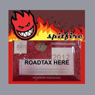 Road Tax Sticker Spitfire