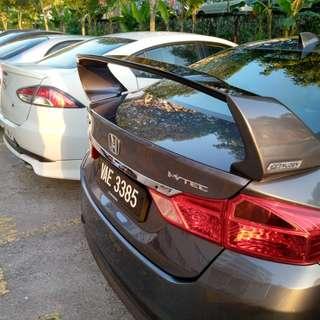 Honda City FL Mugen Spoiler