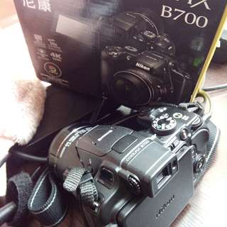 Nikon Coolpix B700 with charger and free tripod