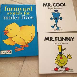 Children books from scholastic and various
