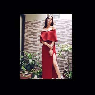 Apartment8 Long Red Gown/Dress