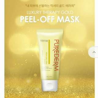 Purederm Gold Peel Off Mask