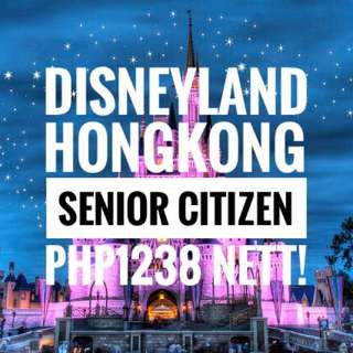 Hongkong Disneyland (Senior Citizen)