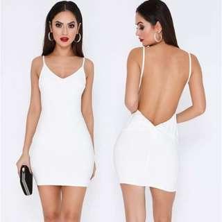 White Mini Dress Brand new