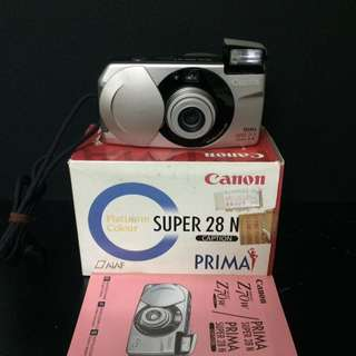 Canon Prima Super 28N Camera