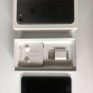 iPhone 7 256gb Factory Unlocked Matte Black