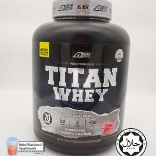 Titan Whey Protein Isolate