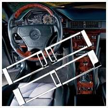 Chrome Styling Air Vent Trim Kit for Mercedes Benz W124
