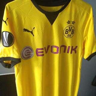 Dortmund 多蒙特 15/16 歐洲賽主場 M size #10連歐霸章