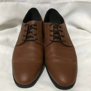 H&M Brown Leather Shoes
