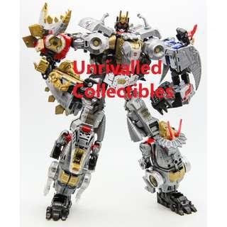 [In hand] Hasbro Transformers Power of the Primes POTP Dinobots Combiner - Volcanicus (set of 6)