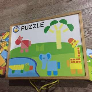 Puzzles in magnet