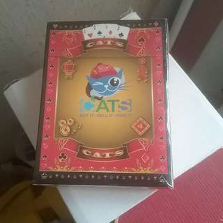 CNY edition Playing cards , Collectible, CATS Classified