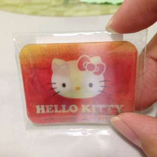 Hello kitty 3 changing faces plastic tab