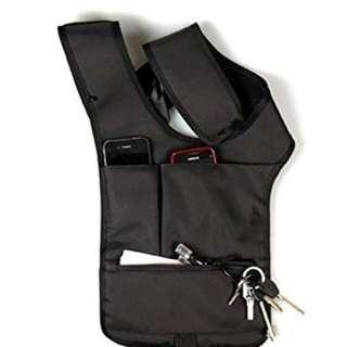 anti theft underarm shoulder bag holster
