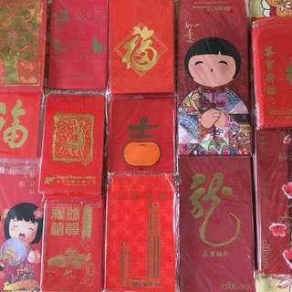 CNY Ang Pow packets - BN new and vintage designs