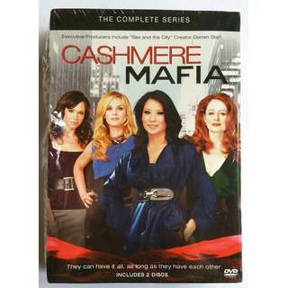 Like New Cashmere Mafia 2-DVD set Complete Season 1