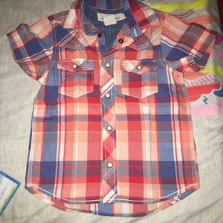 H&M polo short sleeves size 2-3y/o