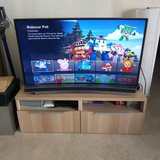 """Samsung curved 48"""" UHD smart TV ua48ju6600"""