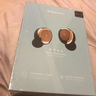 全新黑色原裝行貨Dear ear oval wireless earphone
