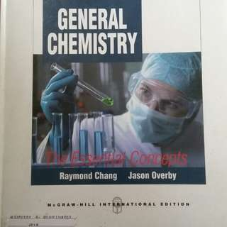 General Chemistry book