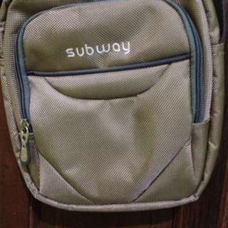 Sling bag subway