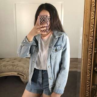 American Apparel Light Denim Jacket