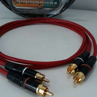 Vandamme RCA to RCA Hi-Fi cables