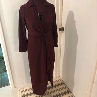 Evie twist dress size 8