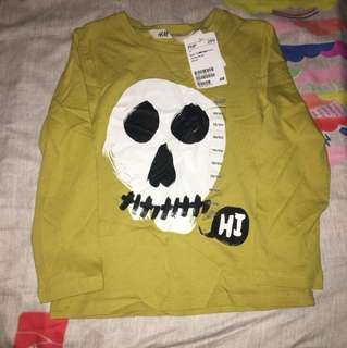 H&M longsleeves size 2-4 y/o (brand new)