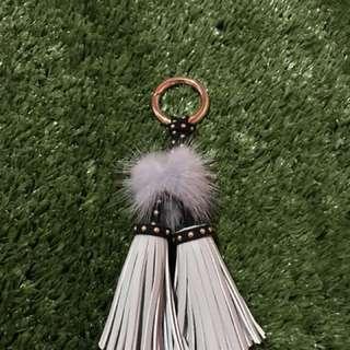 Minimalist Tassel Key Chain