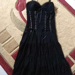 (Reprice from 350K) Australia's Caroline K. Morgan Black 👗 Dress