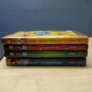 The 39 Clues. Books 1- 4.