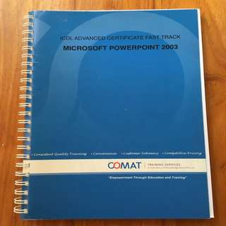 Microsoft PowerPoint 2003 Printed Training Notes