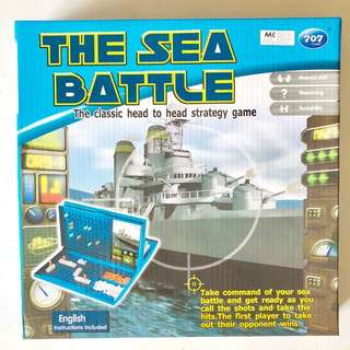 The Sea Battle strategy game