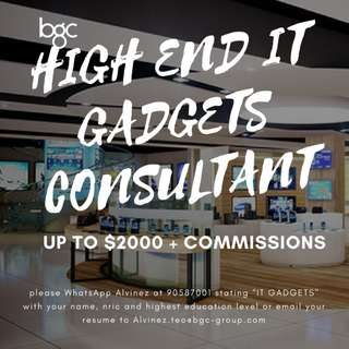 IT GADGETS SALES CONSULTANT UP TO $2000 + COMMISSIONS (AZ)