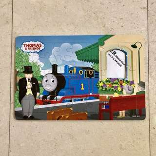 Thomas & Friends puzzle photo frame