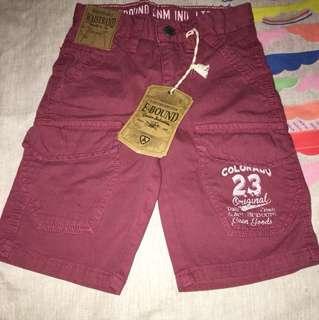 E bound denim unlimited shorts size 4 y/o (brand new)