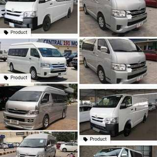 Assume Hiace Commuter 2017 MT
