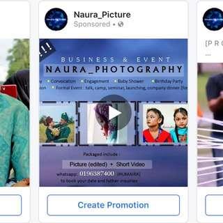 Photographer & Videographer event and wedding