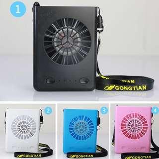 (New) Portable Rechargeable Fan