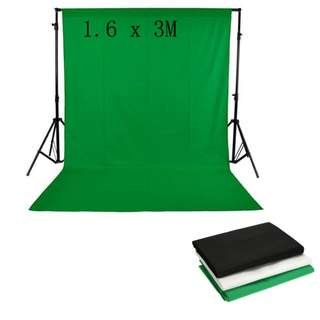 Photography Studio Non-woven Backdrop Background Screen Green