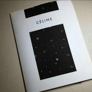 全新Celine啡色絲襪