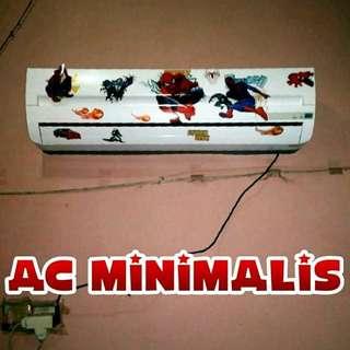 Ac Minimalis Kristal 1 pk Remot