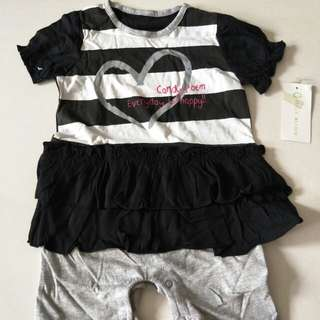 Girl's rompers